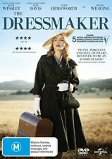 The Dressmaker DVD Region 4 NEW+SEALED