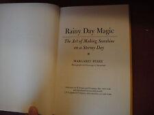Rainy Day Magic Margaret Perry 1970 Children's Craft Book HB