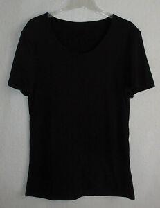 Damen / Herren  Unterhemd / Thermo - T-Shirt  >schwarz<   Gr. XXL   →N E U←