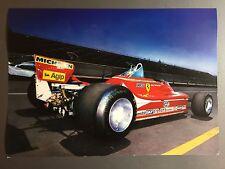 1979 Ferrari 312 T4 Formula 1 Race Car Print, Picture, Poster RARE! Awesome L@@K