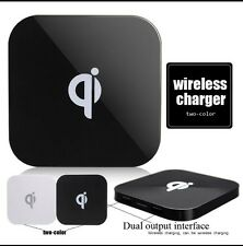 QI Wireless Charger Pad Plate+Receiver For Apple iPhone 5/5s/6/6s/6 Plus/7/7S/SE
