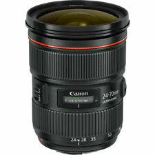 Canon EF 24-70 mm F/2.8L II USM Lense - Black