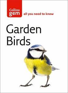 Garden Birds (Collins Gem) by Stephen Moss Paperback Book The Cheap Fast Free
