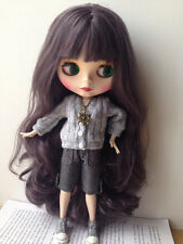Takara 12'' Neo Blythe Doll From Factory Jointed Body Long Soft Hair Matte Face