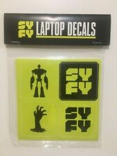 SYFY Network FYC LAPTOP DECAL STICKERS sy-fy tv Prop Promo
