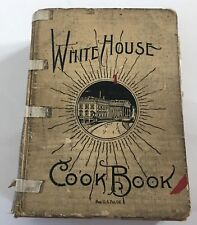 White House Cook Book 1925 Illustrated