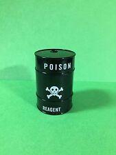 New Zinc Alloy Reagent Poison Sharkteeth Tank Tobacco Herb Grinder (Black)
