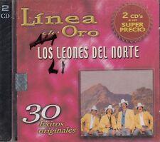 Los Leones Del Norte linea De Oro 30 Exitos Originales 2CD New Sealed