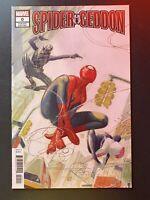 Marvel Comics Spider-Geddon #0 1st App PS4 Spider-Man 1:50 Variant Tedesco