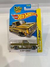 Hot Wheels Super Treasure Hunt 83 Chevy Silverado - w/protector