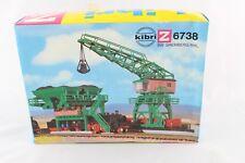 Kibri 6738 Kit Construcción coaling con la grúa ESCALA Z + NUEVO Y EMB. orig. +