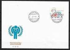 UNICEF-Jahr des Kindes/ Finnland MiNr 836 FDC