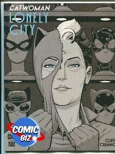 CATWOMAN LONELY CITY #1 (2021) 1ST PRINT CLIFF VARIANT COVER B DC COMICS