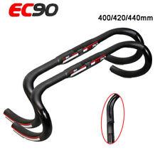 U EC90 Carbon Fiber Road Bike Drop Bar Bicycle Handlebar Bars 31.8*400/420/440mm