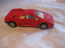 Lamborghini Diablo In A Red 143 Scale Diecast With Pull Back Action        dc151