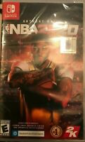 NBA 2k20 for Nintendo Switch FACTORY SEALED BRAND NEW FREE SHIPPING