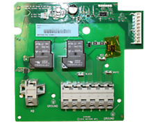 Watkins Iq 2020 Heater Relay Board w/ Jumpers Pn 77119 (New); Pn 74618 (Old)