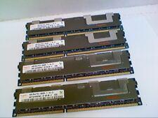 Lot of 4 (16GB) - 4GB Hynix 2Rx4 PC3-8500R ECC Server RAM HMT151R7BFR4C-G7