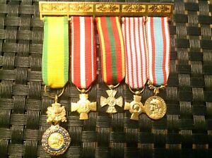 Fremdenlegion, Legion Etrangere, French Foreign Legion, Ordensspange, Miniatur