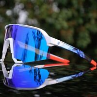 Polarized Cycling Glasses Mountain Bike Goggles Sports 4 LENS UV400 High Quality