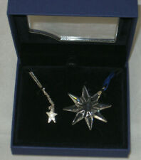 SWAROVSKI Little Star Ornament  & Star Necklace Set 1044447 Retail $90.00
