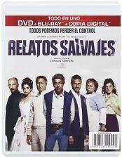 Relatos Salvajes (DVD + Blu-ray)[Wild Tales] Darío Grandinetti, Leonardo NEW