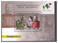 ITALIA 2011 Foglietto 150° Unità congiunta San Marino