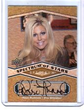 WWE Terri Runnels Pro Wrestler 2009 Upper Deck Spectrum Autograph Card