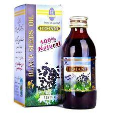 Black Seed Oil/ Nigella Sativa 100% Natural Pure Virgin Cold Pressed  125ml