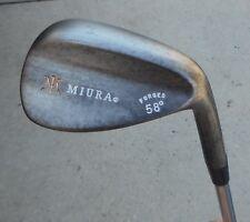 Nice Miura Golf Forged Raw Grind 58 Sand Wedge S-300 shaft Logo grip Conforming