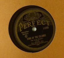 """10"""" GOMMA LACCA-Roy smeck-DARK EYES/Song of the Islands-a178"""