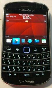 READ FIRST BlackBerry Bold 9930 Black (Verizon) Fast Ship Mint Vintage