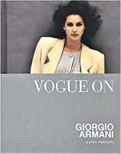 Vogue on GIORGIO ARMANI Kathy Phillips Fashion Design Designer Beauty Couture