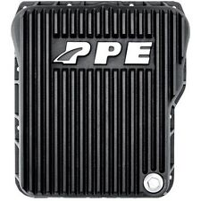 PPE Deep Black Allison Transmission Pan 01-14 GM 6.6L Duramax Diesel 128051020