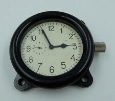 Zchz Zlatoustovskie Russian Soviet USSR Military Tank Cockpit Clock #5018 White