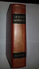 LETTURE DANTESCHE   Sansoni editore 1962  Inferno - Purgatorio - Paradiso