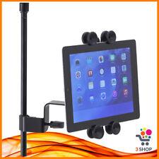 Supporto per tablet universale iPad con aggancio per asta microfono micrfofonica