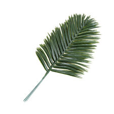 Nice 5pcs Artificial Green Plants Palm Areca Leaves Wedding Party Hot Decor