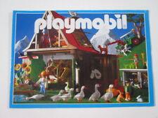 """PLAYMOBIL- """"DIFICIL CATALOGO MEDIANO AÑO 1997 - ESCENA GRANJA"""" -LUJO!"""