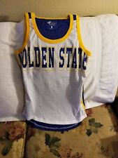 GOLDEN STATE WARRIORS JERSEY - YOUTH MEDIUM - 4 HER CARL BANKS - THROWBACK