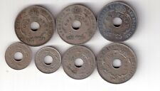 7 EARLY MIXED BRITISH WEST AFRICAN COINS.