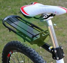 Cycling Adjustable Mountain Bike Rear Rack Touring Bag Panniers Carrier Fender