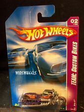 HOT WHEELS 2008 #150 -196-1 AIRY 8 PURP PLASTIC ENGN VERSION AMER💰😍