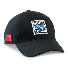 Built Ford Tough American Flag Black Hat