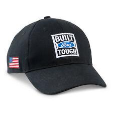 Built Ford Tough American Flag Black Hat