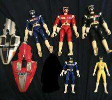 Power Rangers In Space Figure and Cycle Lot (8 Inch, 5 Inch, Galaxy Cycles)
