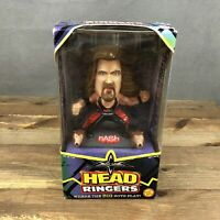 WWE WCW Head Ringers NASH Action Figure Vintage 1999 Bobble Head New Toy