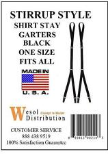 New Stirrup Style Shirt Stay Garters