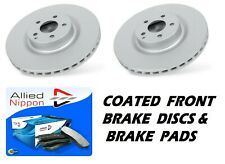2 x FRONT BRAKE DISCS & BRAKE PADS fits VAUXHALL COMBO 2001-2012 260mm