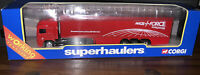 CORGI Superhaulers 59542 ERF BOX TRAILER - Parcelforce Logo - Boxed (Locsm2)